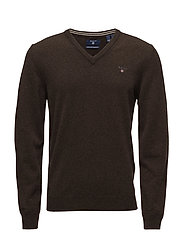 SUPER FINE LAMBSWOOL V-NECK