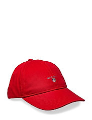 GANT TWILL CAP - BRIGHT RED