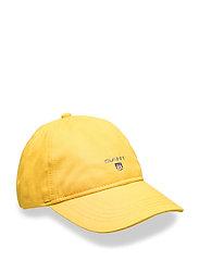 GANT TWILL CAP - GOLDEN YELLOW