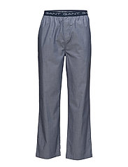 PAJAMA PANTS OXFORD - HURRICANE BLUE