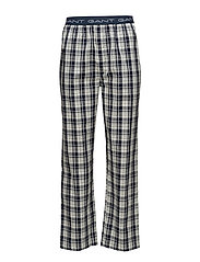 PAJAMA PANTS UPTOWN CHECK - NAVY