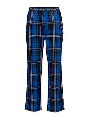 PAJAMA PANTS PREPPY CHECK - NAUTICAL BLUE