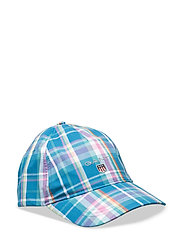 MADRAS CAP - SHARP BLUE