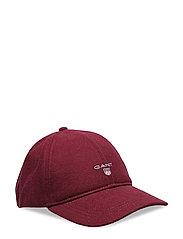 O1. GANT MELTON CAP - PURPLE WINE