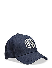 O1.DENIM CAP - DARK BLUE WORN IN