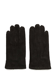 O1. CLASSIC SUEDE GLOVES - BLACK