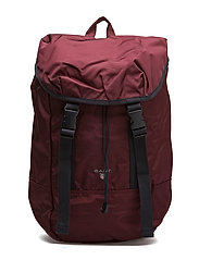 O1. GANT ORIGINAL BACKPACK - PURPLE WINE