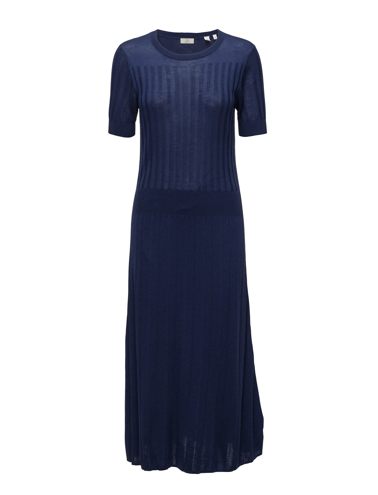 GANT Knitted Rib Dress - Persian Blue GANT Free Shipping Manchester Great Sale 32dbTe