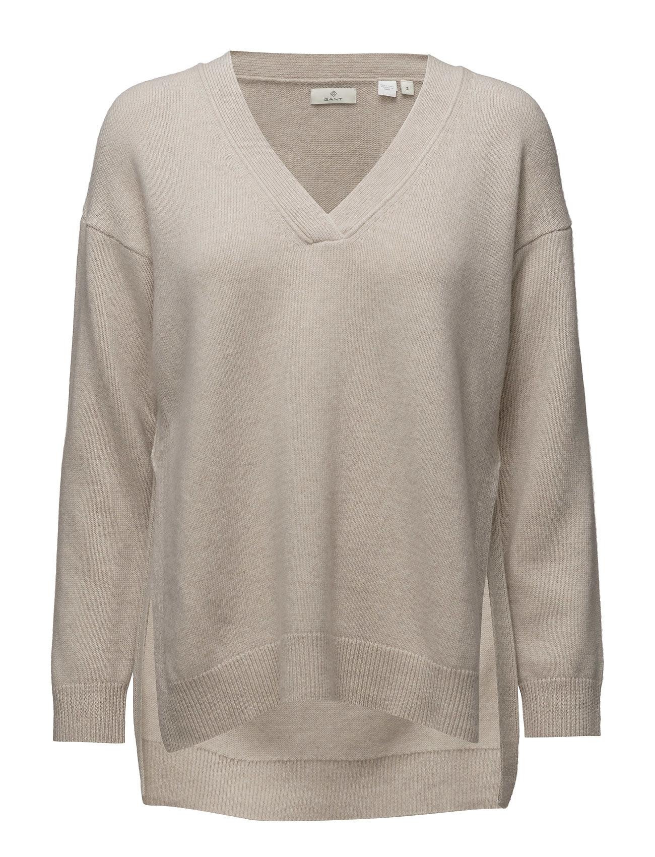 b4248cfd46e Bestil G. Lambswool Cashmere V-Neck GANT Sweatshirts i til Damer i en  webshop