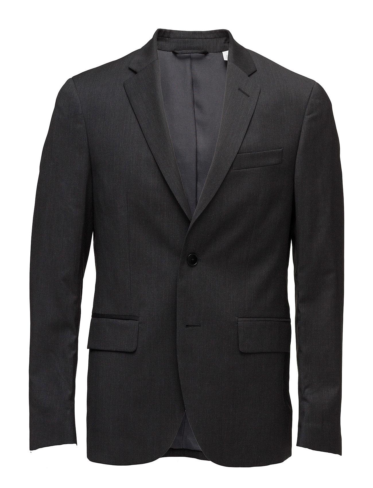 G. Travel Suit Jacket GANT Blazere til Herrer i Charcoal Melange
