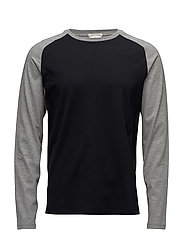 G1. STADIUM LS TOP - BLACK