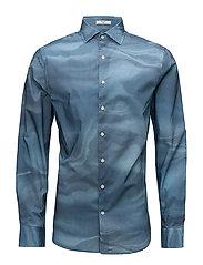 G. MORPHING LINES SLIM SPREAD - DEEP WATER BLUE