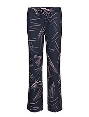 G. PRINTED PENCIL DRAWSTRING PANT - MARINE