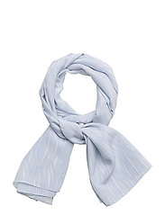 G2. FLUID STRIPE SCARF - HAMPTONS BLUE