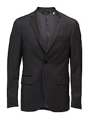 G. TRAVEL SUIT JACKET - CHARCOAL MELANGE