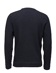 G1. JACQUARED KNITTED CREW NECK