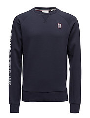 LM. 24 C-NECK SWEAT - EVENING BLUE
