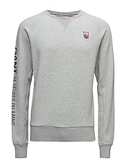 LM. 24 C-NECK SWEAT - LIGHT GREY MELANGE