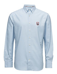 LM. TECH PREP OXFORD REG BD - CAPRI BLUE