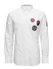 LM. TECH PREP OXFORD REG BD - WHITE