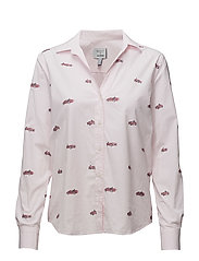 LM. CARS FIL COUPE SHIRT - LIGHT PINK