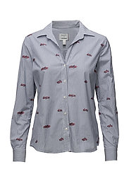LM. CARS FIL COUPE SHIRT - YALE BLUE