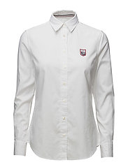 LM. TECH PREP OXFORD SHIRT - WHITE