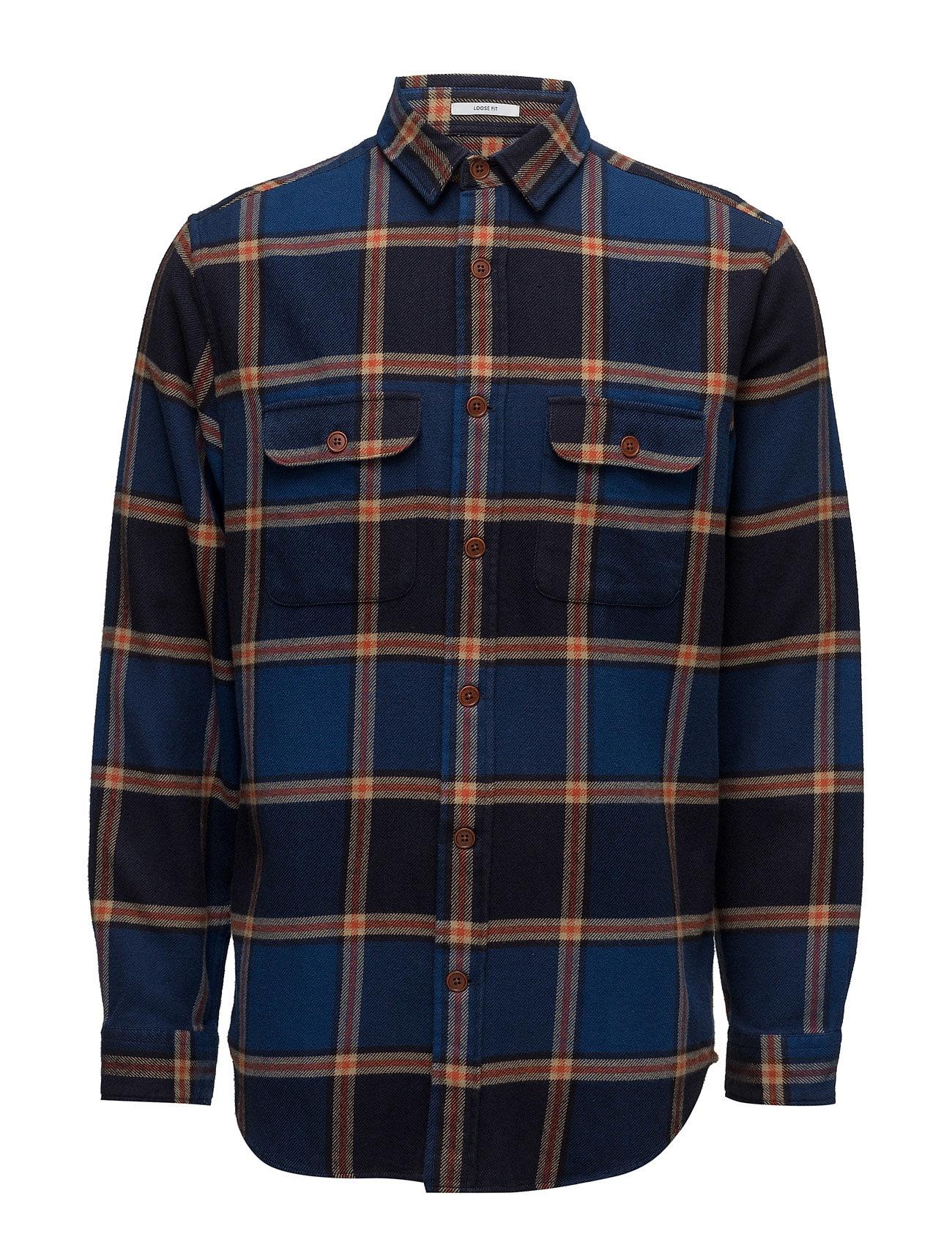 gant rugger – R1. checked twill overshirt lfpc fra boozt.com dk