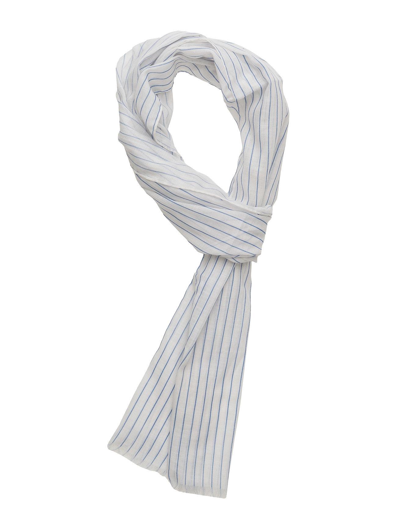 gant rugger R. pinstripe scarf fra boozt.com dk