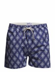 R. DIAMOND SWIMTRUNKS - INDIGO BLUE