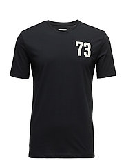R2. THE PRINTED TEE - BLACK