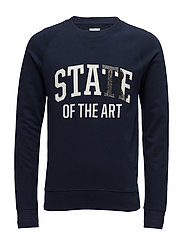 R2. THE PRINTED SWEAT - MARINE