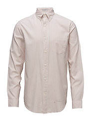 R2. WINDBLOWN OXF BAR STRIPE LFBD - NANTUCKET SANDS