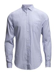 R. WINDBLOWN OXFORD BANKER H SPREAD - SEA BLUE