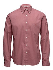 R. IMPORTED FABRIC GINGHAM HOBD - RED