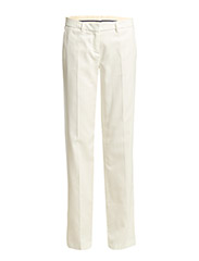 R. FLARED PANTS - CREAM