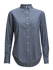 R. FLUFFY OXFORD GARMENT DYE OBD - VINTAGE BLUE