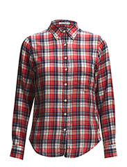 R. HER FLANNEL OBD - CARMINE RED