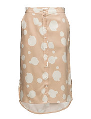R1. DOT SHIRT SKIRT - SOFT SAND