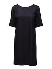 R1. SHIRT BACK DRESS - EVENING BLUE