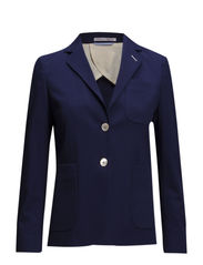 R. CANVAS BLAZER - MEDIVAL BLUE