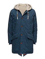 R2. THE DOWN FISHTAIL PARKA - WET MIRAGE