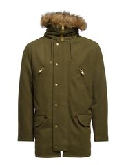 R. WINTER PARKA - HUNTER GREEN