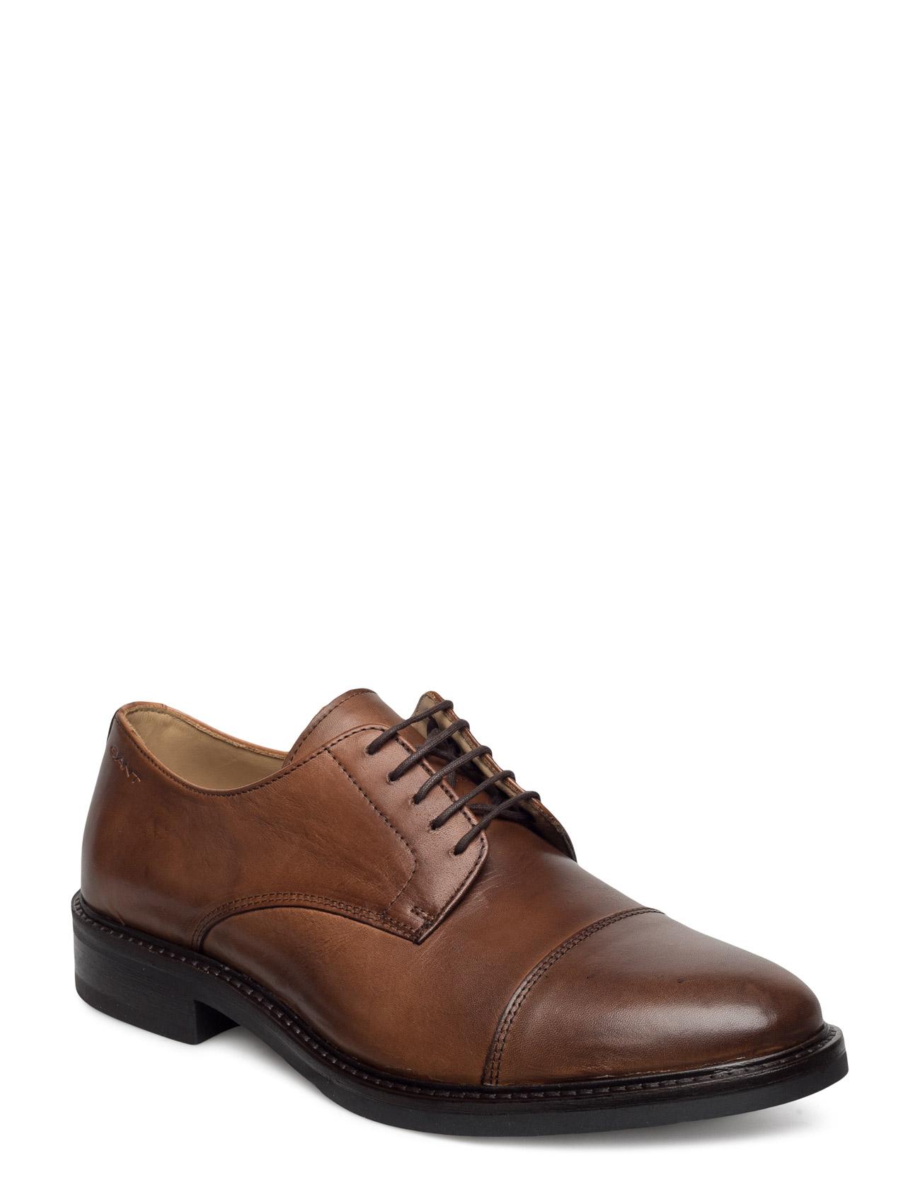Albert Low Lace Shoes GANT Business til Mænd i Sort