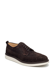 Iv Low lace shoes - DARK BROWN