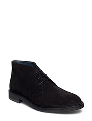 Walter Mid lace boot - BLACK