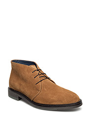 Walter Mid lace boot - TOBACCO BROWN