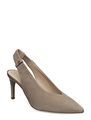Betty Pumps (high heel) - DARK KHAKI