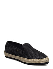 Krista Slip-on shoes - BLACK