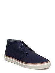 Bari Mid lace boot - MARINE
